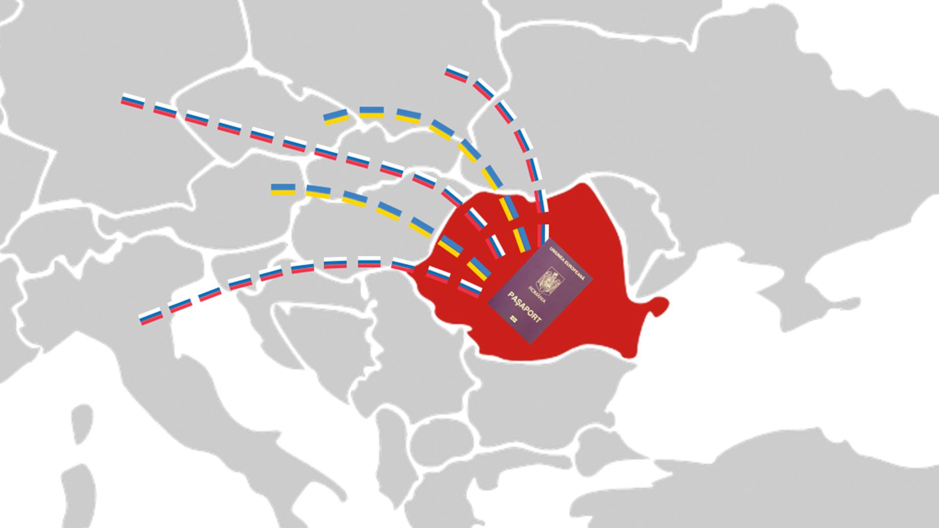 Schema prin care ruși și ucraineni devin cetățeni români fără să-i verifice nimeni